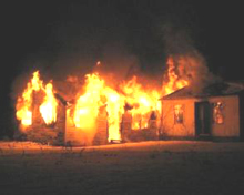 Arson causes much damage and loss to properties and human lives