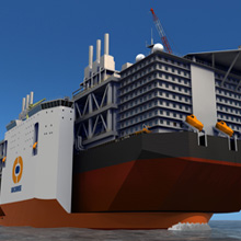 Autronica has been tasked with providing the entire fire detection system for Dockwise's super vessel