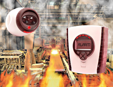 Fireray 5000 beam detector is suitable for wide area fire and smoke detection