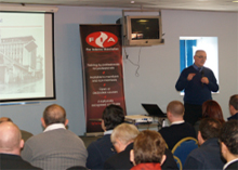 FIA CEO, Graham Ellicott discussed various aspects of fire safety with the attendees of the seminar.