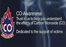Carbon Monoxide (CO) Awareness Week runs from 15 – 19 November