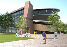 The new south Cheshire college has got state-of-art  Chubb fire safety and security systems