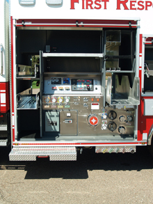 Crimson exhibited its range of fire products at FDIC 2010