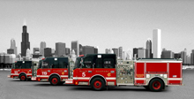 Chicago Fire Department gets a boost from Crimson Fire products