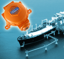 The Crowcon Xgard IR gas detector can be used on marine vessels