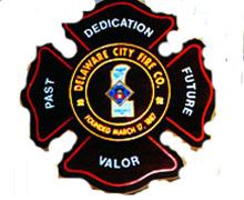 Delaware City Fire Company Logo