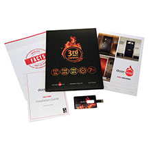 In addition to the brochures, the pack also consists of an installation guide, fact sheets and a USB containing a fire door video, produced by Door-Stop, promoting the importance of correctly specified fire doors