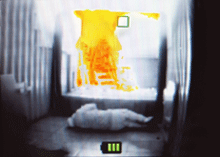 image from a Draeger UCF thermal imaging camera