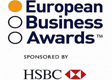 The contest is sponsored by HSBC and others honours excellence, best practices and innovations in the European business community
