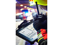 EMEREC is a data storage and transfer system developed for fire protection vehicles to communicate data of the accident vehicle to the nearest emergency centre