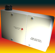 Elmdene's Fire Signalling Interface (FSI-01) comes in two sections to provide physical segregation