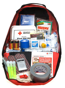 Emergency preparedness kit helps in overcoming trauma and accidents during disasters
