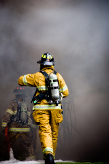 Exposition to toxic fumes and gases is a major cause of cancer among firefighters