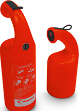 Fire extinguisher with unqiue safety design