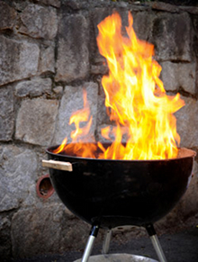 The new USFA report focuses on fire safety norms for grills barbeques and hibachis