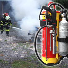 HNE portable fire fighting systems are an extremely versatile solution