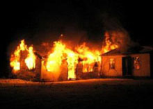 London homes have high risk of catching fires
