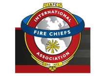 The International Fire Chiefs Associaton logo, the company have recently established a new Company Officer Task Force