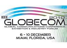 Telcordia displays their products at IEEE GLOBECOM 2010