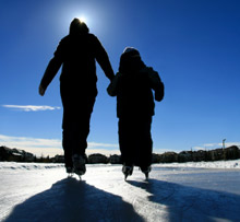 Recreational activities in, on and around water or ice - such as ice skating - pose a danger to the public, and should be prepared for by local fire and rescue teams