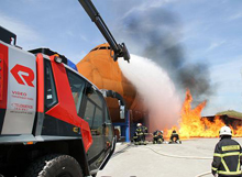 Different variants of fire fighting vehicles were introduced at Interschutz 2010