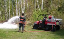 Kimtek's fire foam systems have marvellous fire fighting qualities