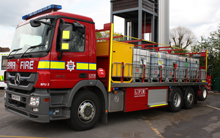 The new foam unit will enhance London Fire Brigade