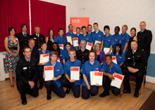 Fire cadet course to spread fire safety awareness among people