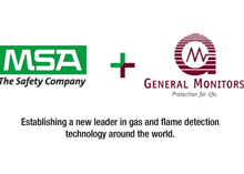 MSA has acquired General Monitors thus becoming a world leader in flame and gas detection products