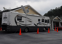 Mobile Disaster recovery Centers provide easy access and support to disaster hit people