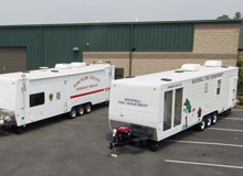 Mobile Concepts by SCOTTY has assisted several fire departments with grant applications for their products, such as the SCOTTY Fire Safety House, sprinkler trailers and PREP House