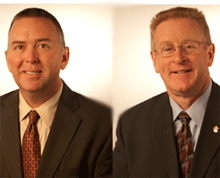 The National Fire Protection Association's two new regional fire sprinkler specialists