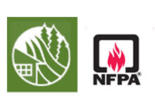 National Fire Protection Association and Canada's Partners in Protection Association logos