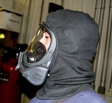 The new SCBA relies on the pressure-vessel technology