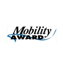 Mobility Award logo, Omnilert were nominated for Best Alerting Service Award