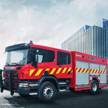 The new Oshkosh XP fire apparatus is engineered and constructed to exacting standards by Oshkosh subsidiary