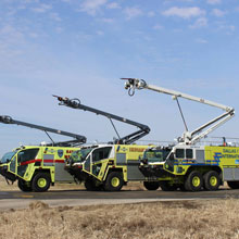 The Oshkosh Snozzle HRET's new features improved performance, ergonomics, and serviceability