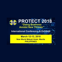 PROTECT 2018 to focus on cyber security, counter surveillance and private sector security