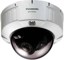 The Panasonic WV-CW504 vandal-resistant fixed dome camera