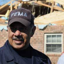 Phil May has served FEMA for more than 21 years