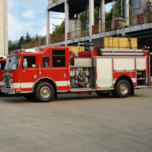 Pierce's advanced high technology fire trucks are well suited to meet China's needs