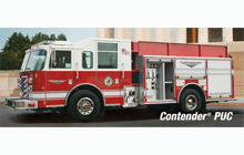 Pierce's Contender (pictured) is the Hillsdale Rural Fire Department's first new fire apparatus for 63 years