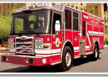 Pierce Manufacturing's Dash CF fire apparatus with tilting cab-forward design