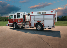 Pierce's innovative fire truck displayed at Interschutz 2010