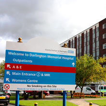 The existing fire detection and fire alarm systems in the hospital have been removed and upgraded by ADT Fire and Security using Prysmian FP PLUS
