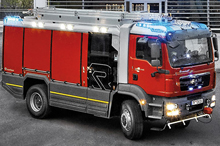 Rosenbauer's new AT vehicle has all the latest equipments and tecnology