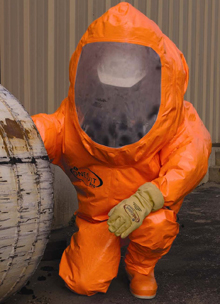 The ONESuit Pro line of gas tight suits will be on display at Interschutz 2010