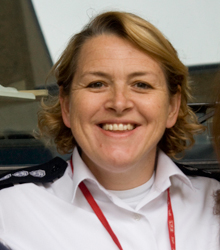 Sian Griffiths woman firefighter an idol for every woman