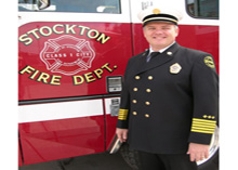 A directive issued by the City of Stockton prohibited Stockton firefighters from carrying out their breast cancer awareness and fund-raising campaign.