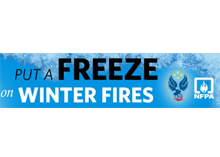 Be safe and warm during winter to save yourself from winter fires says the joint initiative of USFA and NFPA.